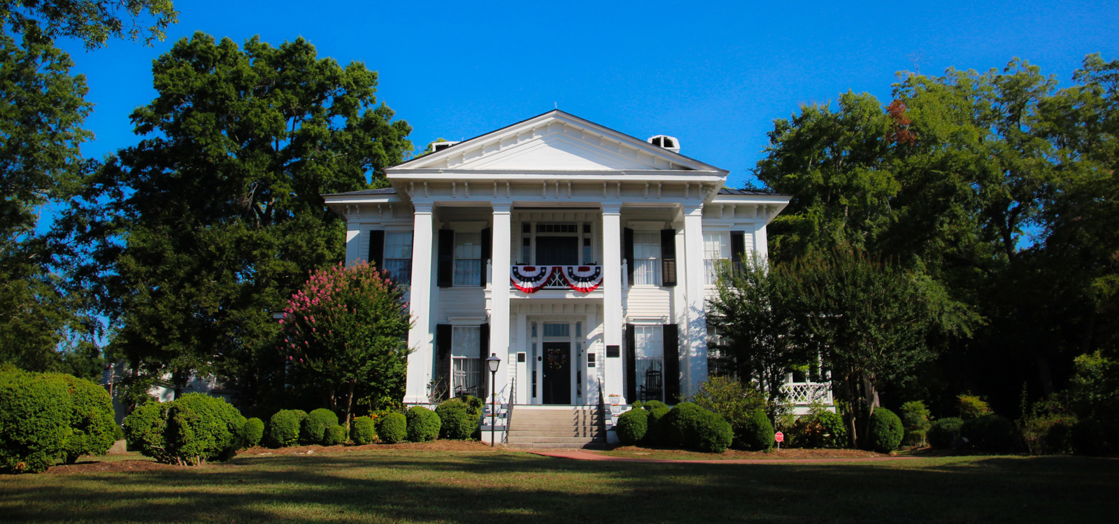 Step back into the history of the Old South.