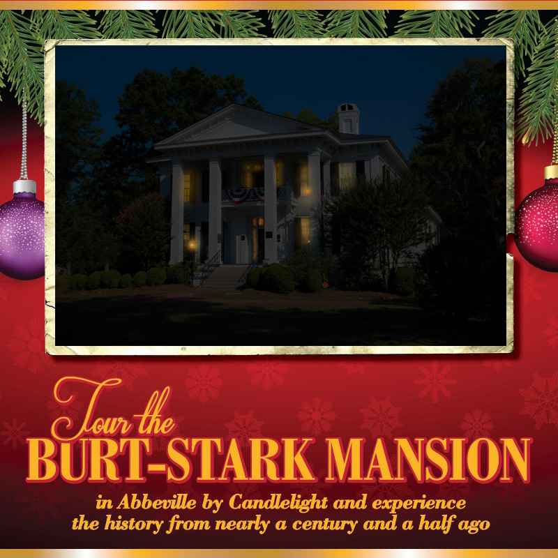 Candlelight Tours of the Burt-Stark Mansion
